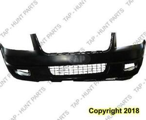 Bumper Front Primed Eddie Bauer (Include Bumper Absorber) CAPA Ford Expedition 2004-2006
