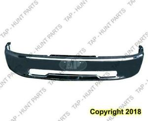 Bumper Front Face Bar Chrome Without Fog Hole Without Sport Ram 1500 Dodge Ram 2009-2012