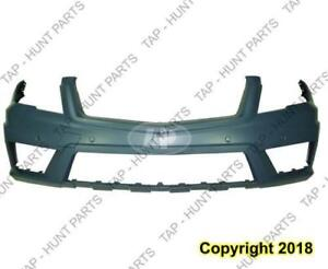 Bumper Front Primed With Sensor Without Headlight Washer Hole With Amg Package Glk 350 Mercedes G-Class 2010-2012
