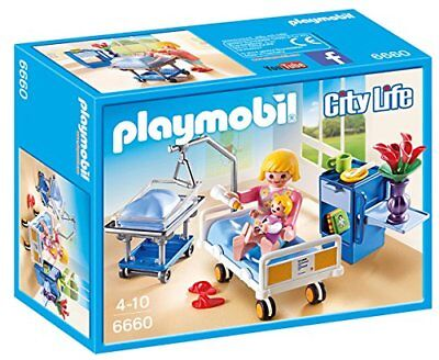 Playmobil City Life Maternity Room 6660 (for Kids 4 to 10)