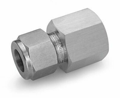 Ham-Let Stainless Steel 316 Let-Lok Compression Fitting, Adapter, 3/8 NPT Female