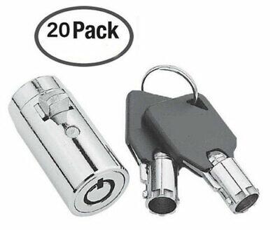 Vending Machine Locks-qty 20 Keyed Alike With Key Covers-coke Pepsi Sprite