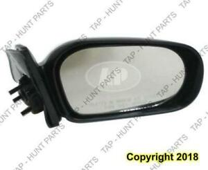 Door Mirror Manual Driver Side Without Lever Toyota Tercel 1995-1999