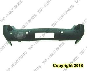 Bumper Rear Primed Yukon Xl Denali With Sensor Hole GMC Yukon 2007-2011