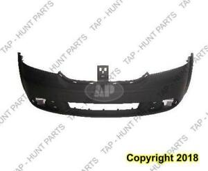 Bumper Front Primed Without Washer Hole Without Tow Hook Hole Dodge Journey 2009-2016