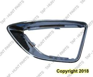 Fog Lamp Surround Moulding Driver Side Sel Ford Fusion 2010-2012