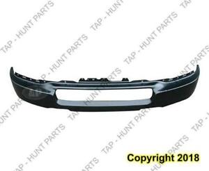 Bumper Front Steel Primed Without Fog Ford F150 1997-2005