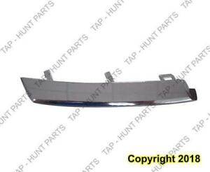Grille Moulding Upper Passenger Side Chrome Usa Ex/Ex-L Honda CRV 2007-2009