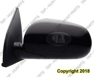 Door Mirror Power Driver Side Sedan/Hatchback Hyundai Accent 2010-2011