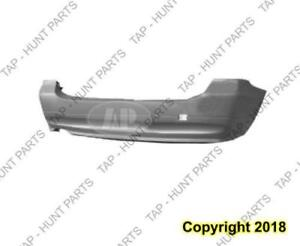 Bumper Rear Primed Without M Package Without Sensor Wagon CAPA BMW 3-Series 2006-2008
