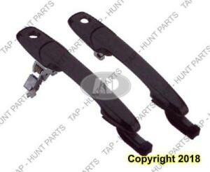 Door Handle Outer Front Driver Side With Key Hole Without Keyless Entry Ptm Mazda 3 2004-2009