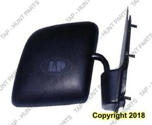 Door Mirror Manual Passenger Side With Swing Lock Paddle Type/Flat Glass  Ford Econoline 1992-2007