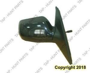 Door Mirror Manual Passenger Side Mazda 3 2004-2009