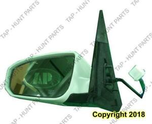 Door Mirror Power Passenger Side With Folding Nissan MAXIMA 2004-2008