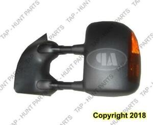 Door Mirror Power Driver Side Heated Textured With Signal/Folding Ford F250 F350 F450 F550 2003-2007