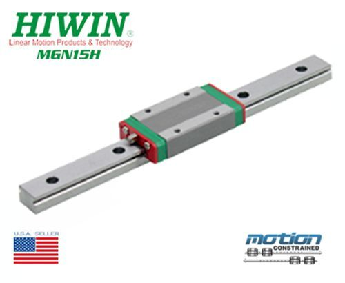 New Hiwin MGN15H Linear Guides MGN Series Linear Bearings / 60mm to 1980mm Long