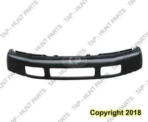 Bumper Front Primed Without Flare Super Duty CAPA Ford F250 F350 F450 F550 2005-2007