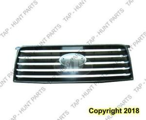 Grille Painted-Silver (Base Model Without Sport) Subaru Forester 2006-2008