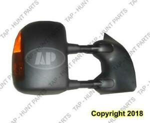 Door Mirror Power Passenger Side Heated Textured With Signal/Folding  Ford F250 F350 F450 F550 2004-2007