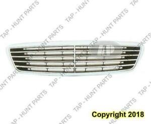 Grille Chrome/Black Mercedes S-Class 2000-2002