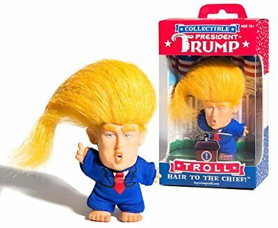 Collectible President Donald Trump Troll Doll   Hair To The Chief