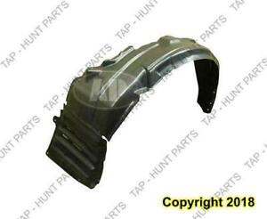 Fender Liner Front Driver Side Exclude Evolution Models Mitsubishi Lancer 2008-2015