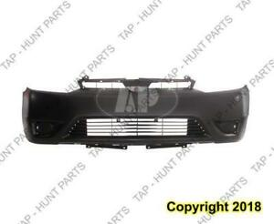 Bumper Front Primed Coupe Honda Civic 2006-2008