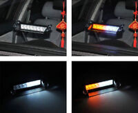 8 LED strobe windshield mount for cars/trucks/tractor/boat NEW
