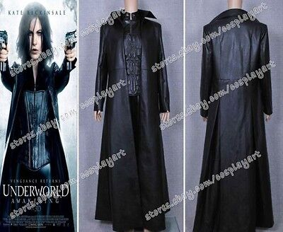 Underworld Cosplay costume Selene Kostüme Kate Beckinsale Schwarz - Underworld Selene Kostüm