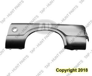 Outer Bedside Panel Rear Driver Side (7 Foot Bed With Single Rear Wheel) CAPA Ford F250 F350 F450 F550 2004-2007