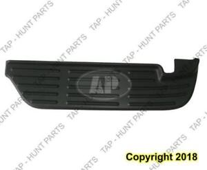 Bumper Rear Upper Step Pad Black Passenger Side  Ford F250 F350 F450 F550 2004-2007