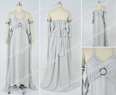 Dany Targaryen Kostüme (Game of Thrones Daenerys Targaryen Cosplay Kostüme Dany costume Grau Kleid)