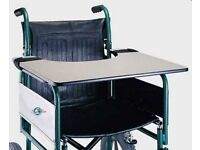Removable laminated Wheelchair Table