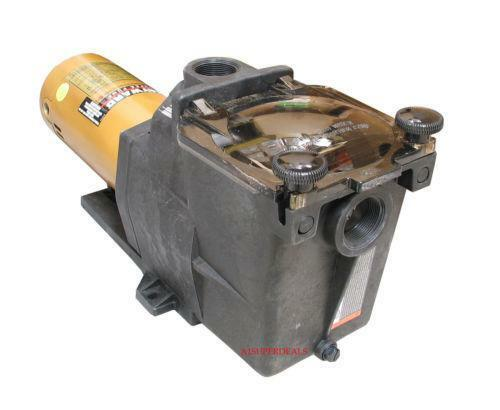 Hayward super pump 1 hp ebay for Hayward 1 1 2 hp pool pump motor