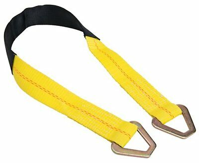 Premium Axle Strap w/ protective sleeve, D ring, 36in, 10,000 LBS Break Strength