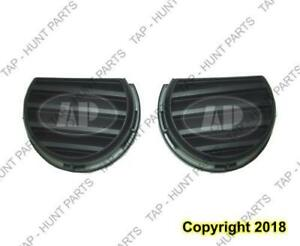 Fog Light Cover Front Driver Side With Turbo Textured Black Chevrolet HHR 2006-2011