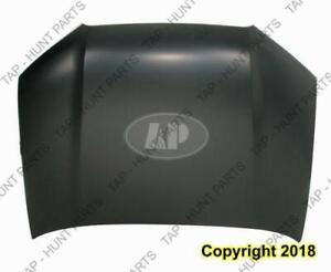 Hood Without Scoop Toyota 4Runner 2010-2013