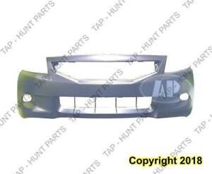 Bumper Front Primed Coupe CAPA Honda Accord 2008-2010
