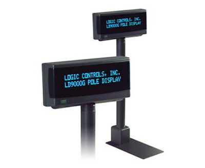 Logic Controls Bematech Ldx9000 Pole Display Usb Dark Grey New