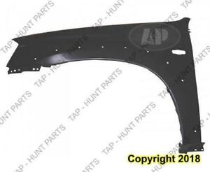 Fender Front Driver Side With Wheel Moulding Hole Mazda Tribute 2001-2006