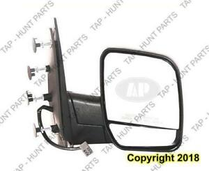 Door Mirror Power Passenger Side With Puddle Lamp With Dual Glass Ford Econoline 2002-2007