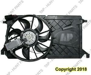 Cooling Fan Assembly With Counter Mazda 3 2004-2009