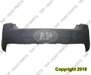 Bumper Rear Primed Without Flare Xls-Xlt  Ford Escape 2005-2007