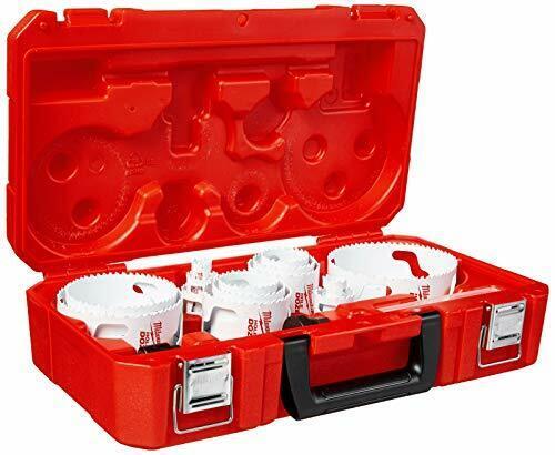 Milwaukee 49-22-4105 - Master Electricians Ice Hardened Hole Saw Kit 19 Piece