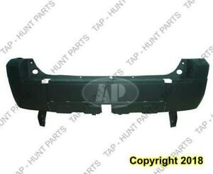Bumper Rear Textured With Flare Ltd-Xlt Ford Escape 2005-2006
