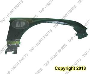 Fender Front Passenger Side (Without Side Lamp Hole) Steel Capa Cadillac SRX 2004-2009
