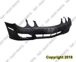 Bumper Front Primed Without Sensor Without Headlamp Washer Hole Without Sport Package Mercedes E-Class 2007-2009