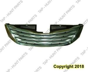 Grille With Chrome Moulding Limited/Xle With Premium Package Without Radar Toyota Sienna 2011-2012