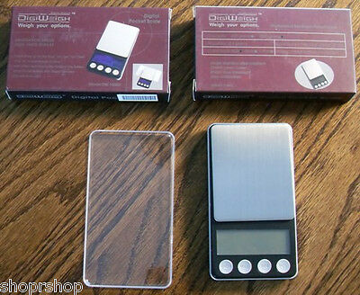 DigiWigh DW1000D - 100g x 0.01g Digital Pocket Weight Scale