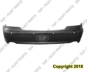 Bumper Rear Primed With Sensor Without Amg Package With Sport With Dual Exht Sedan Capa Mercedes E-Class 2007-2009